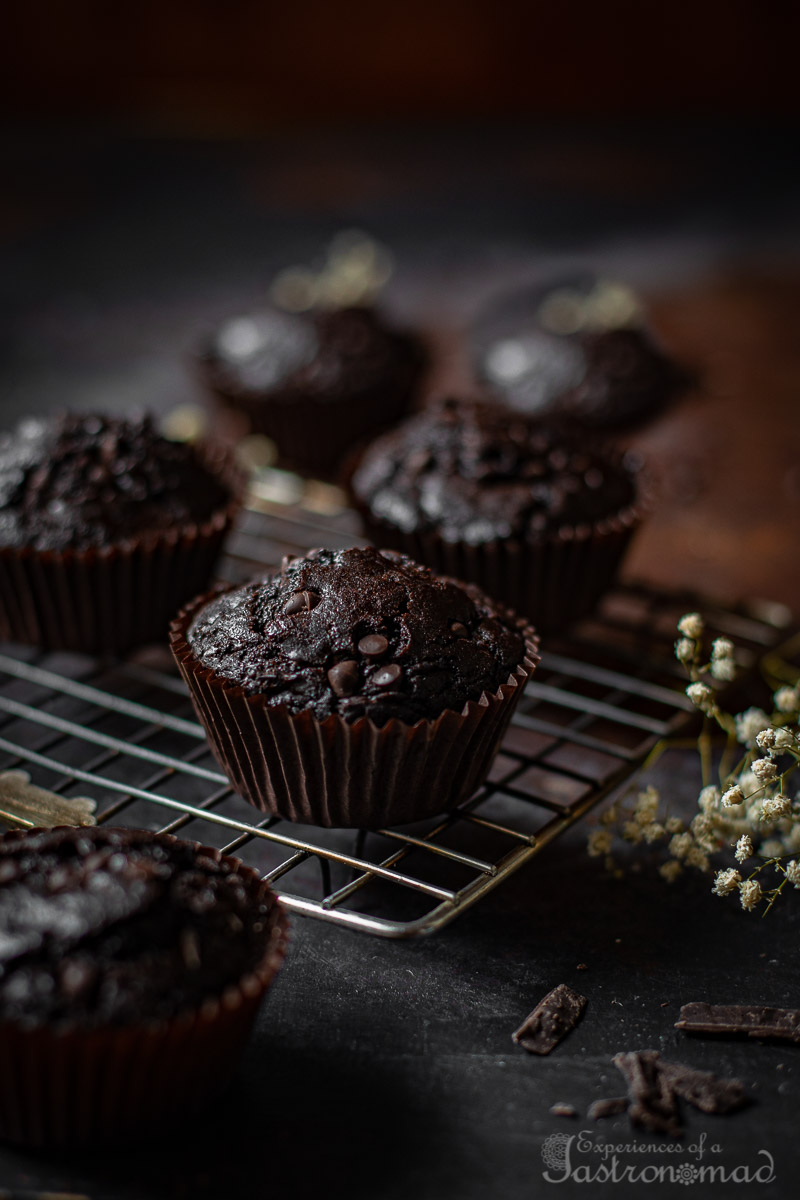 Triple Chocolate Mocha Muffins