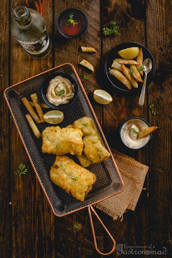 Fish Batter Fry, Bengali Style