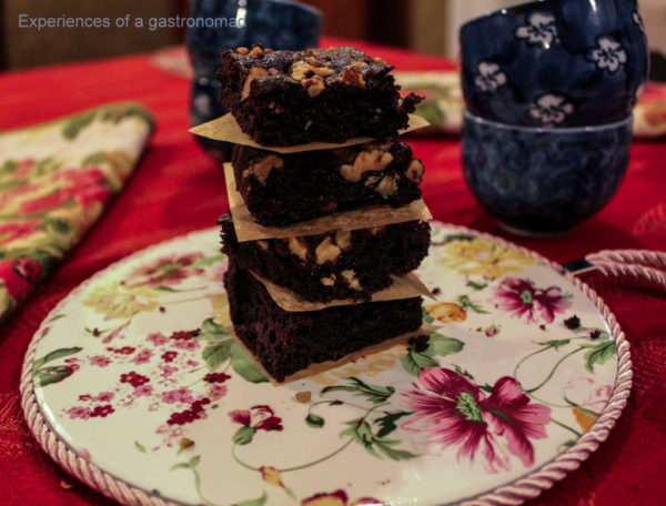 Gluten Free Chocolate Walnut Brownies