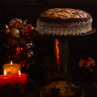 Christmas Fruit Cake | Christmas Plum Cake