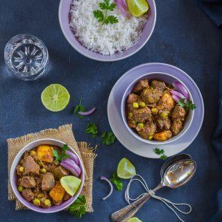 Mete Chorchori (Stir-fried Goat Liver, Bengali style)