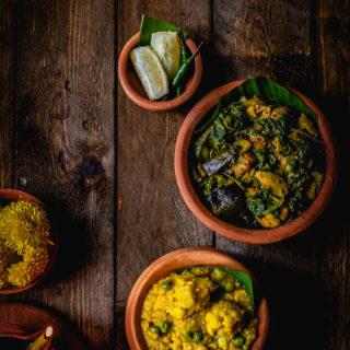 Bhoger Khichuri aar Labra