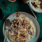 Doodh Biryani (Biryani cooked in Milk)