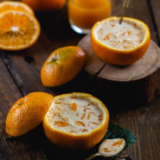 Kheer Komola (Milk Pudding with Oranges)