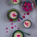 Gulkand Ki Rabri (Milk Pudding with Rose Petal Jam)