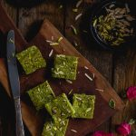 Koraishutir Sandesh (Cottage Cheese and Green Peas Fudge)