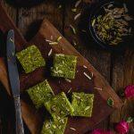 Koraishutir Sandesh (Cottage Cheese and Green Peas Fudge)