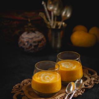 Mango Rabri (Milk Pudding with Mangoes)