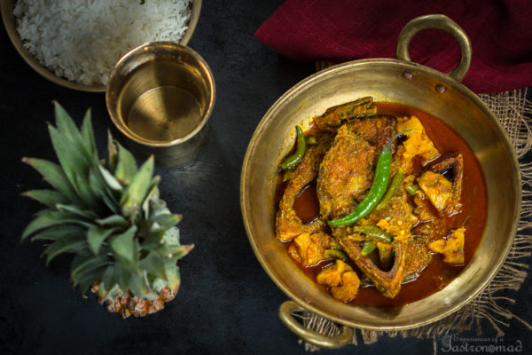 Anarosh Ilish (Hilsa with Pineapple)