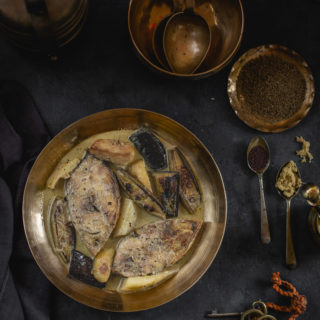Ilish Shukto (Hilsa with a Medley of Vegetables)