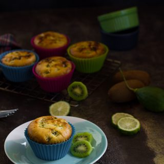 Kiwi Lime Ginger Muffin