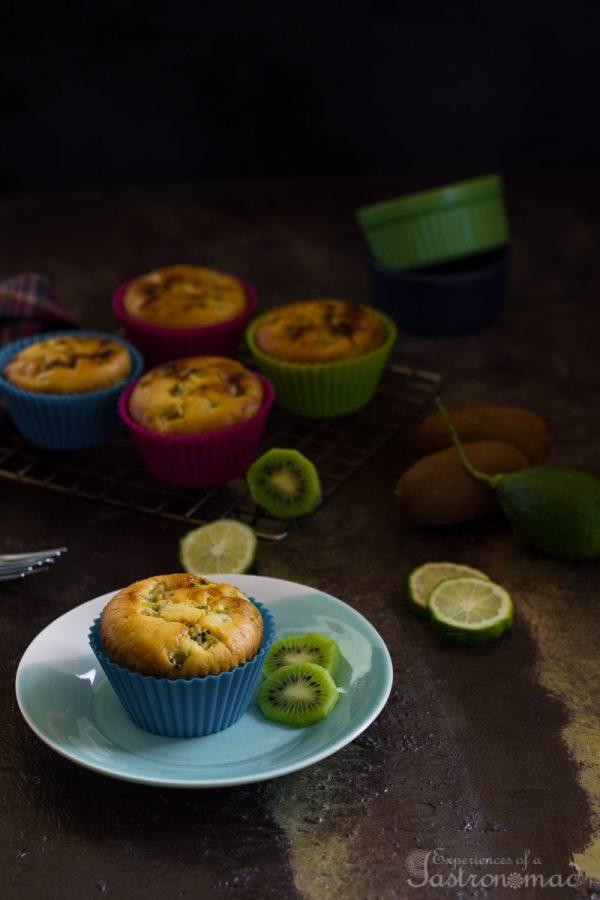 Kiwi Lime Ginger Muffin
