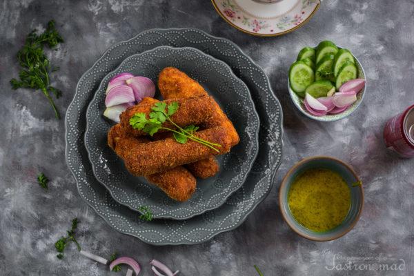 Fish Roll, Kolkata Style