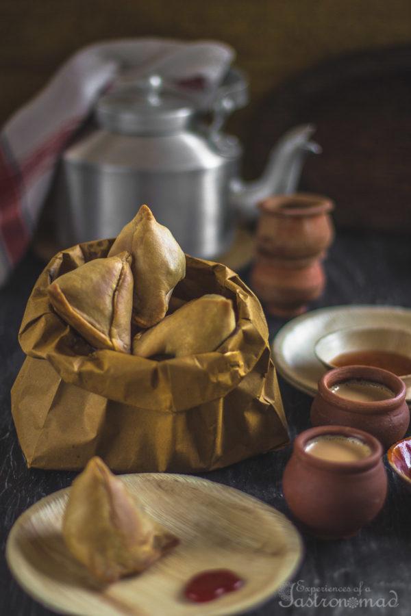 Baked Phulkopir Singara