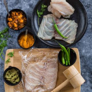 Fish Roll, Bengali Style