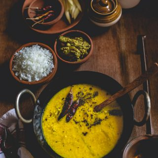 Aam Dal (Lentils with Green Mangoes)