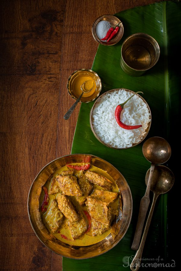 Chingri Barfi Curry