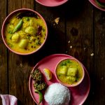 Lau diye Kacha Moong Dal (Moong Dal with Bottle Gourd)
