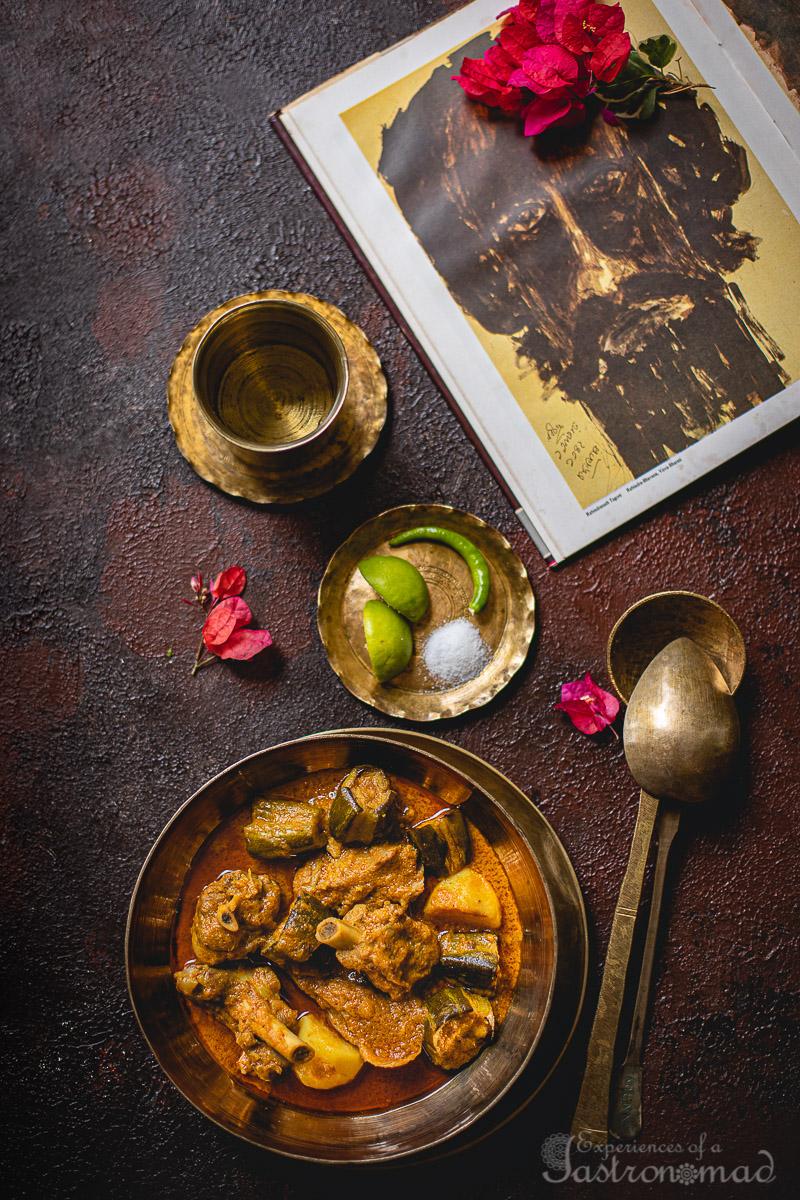 Kancha Aam diye Mangsho
