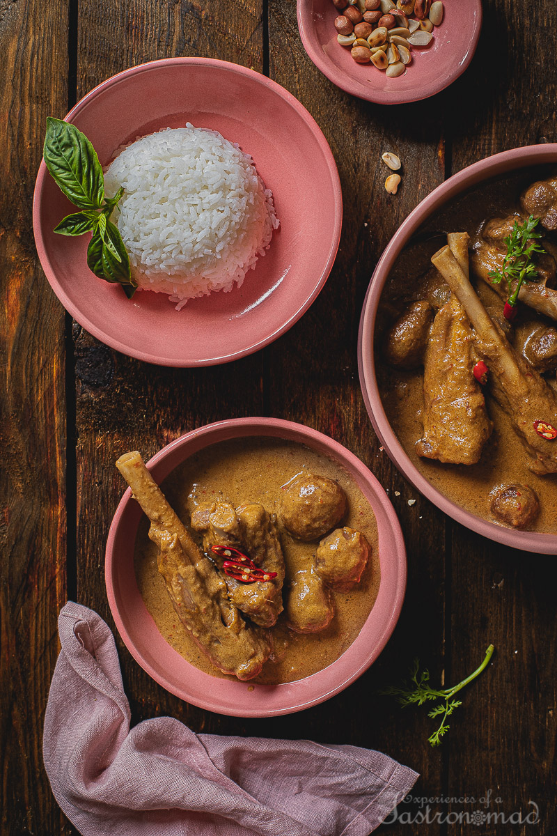 Lamb Massaman Curry